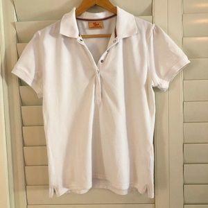 R.M. WILLIAMS ladies size 14 shirt polo  white